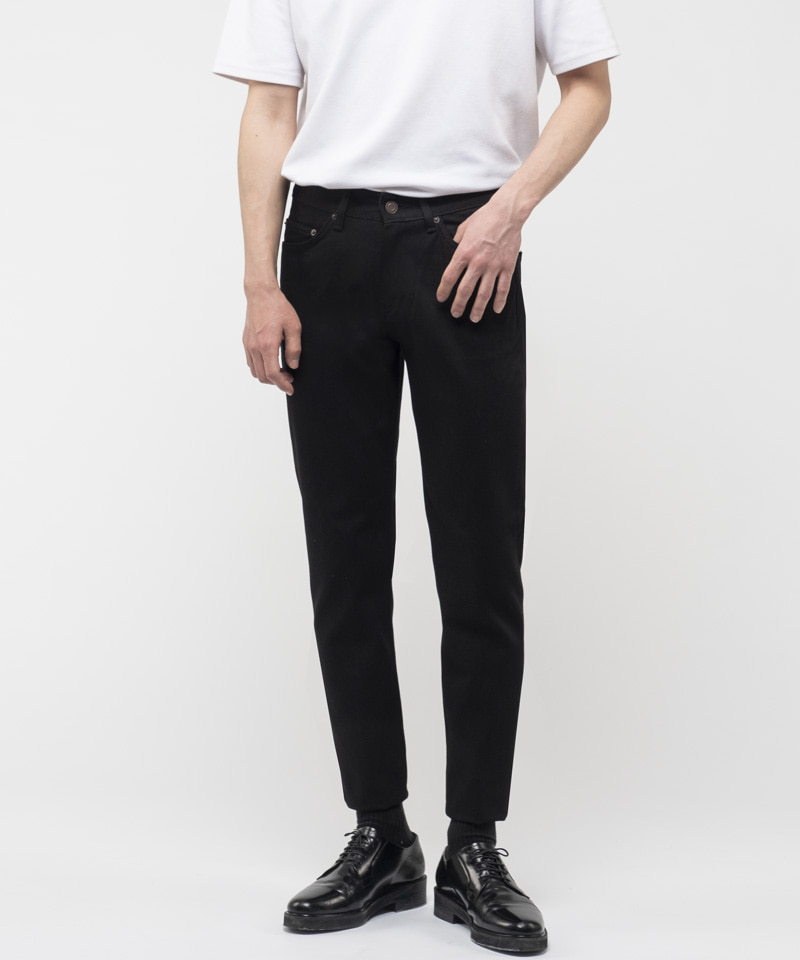 [2차 재입고] 1924 INSTANT BLACK JEANS [NEW SLIM]
