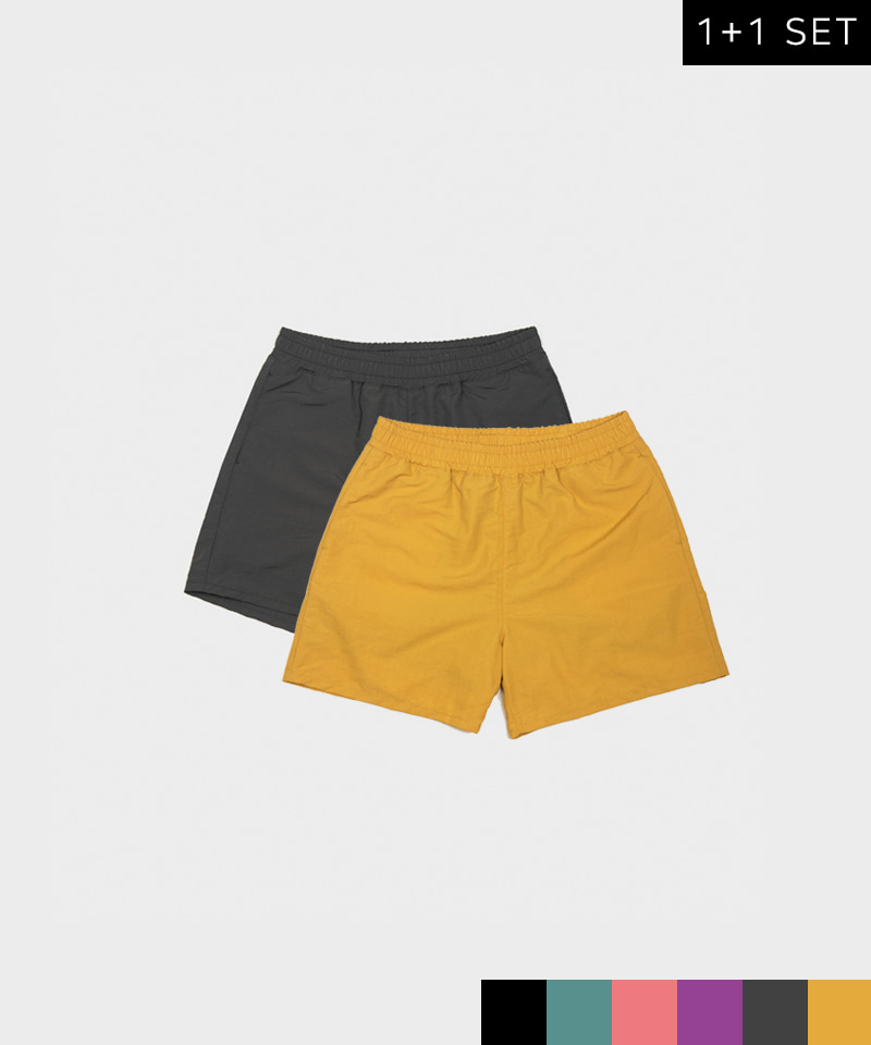 SLIDE SHORTS 5 INCH [1+1 SET]