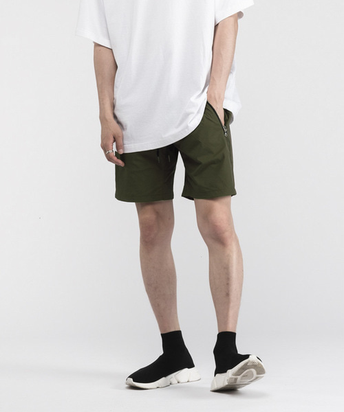 TREKKING SHORTS PANTS [OLIVE]