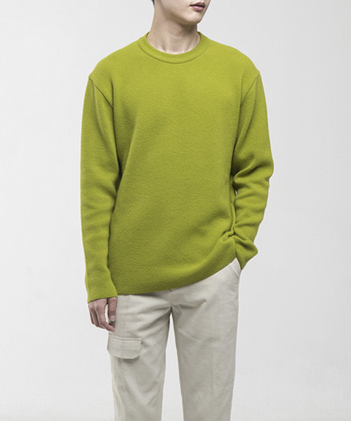 CASHMERE WOOL BC KNIT [AVOCADO]