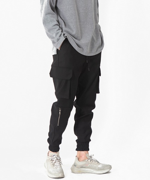 [2차 재입고] 9003 EXCELLA ZIPPER CARGO JOGGER PANTS [LOT. 3]